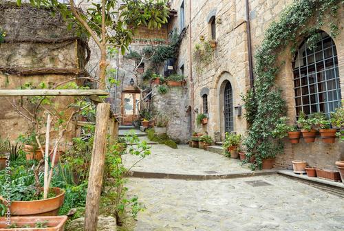 Fototapety, obrazy: Civita di Bagnoregio city detail