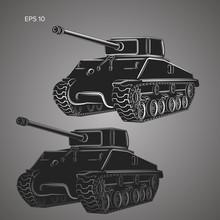 Famous American Tank Vector Il...