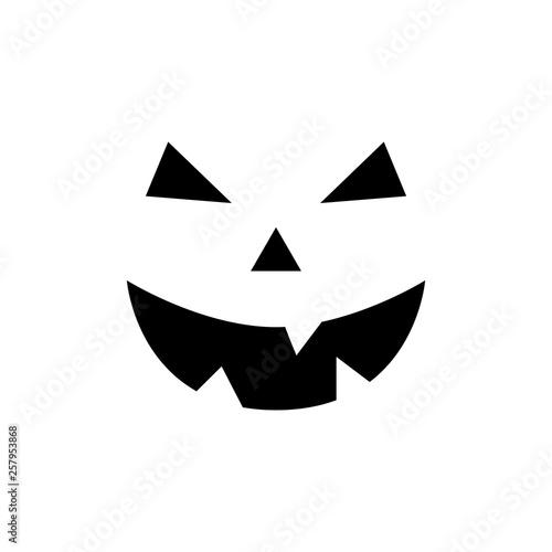 Valokuva  Halloween pumpkin face