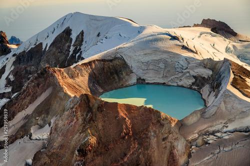 Fotografie, Obraz  Katmai Glacier Lake