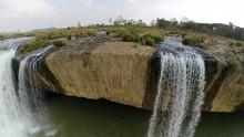 Slow Motion View Of Dray Nur Waterfall, Central Highlands, DakLak, Vietnam