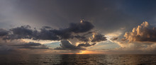 Abstract Seascape Panoramic Ba...