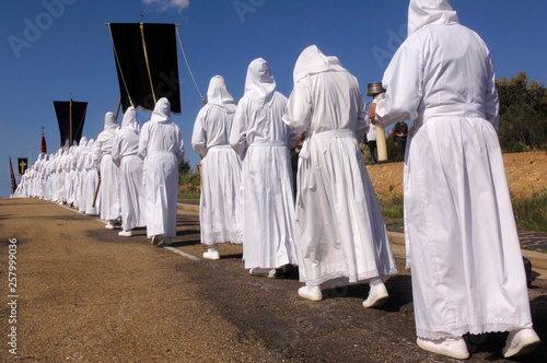 Good Friday Procession, Bercianos de Aliste, Zamora Province, Spain