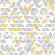 Geometric Vector Pattern With ...