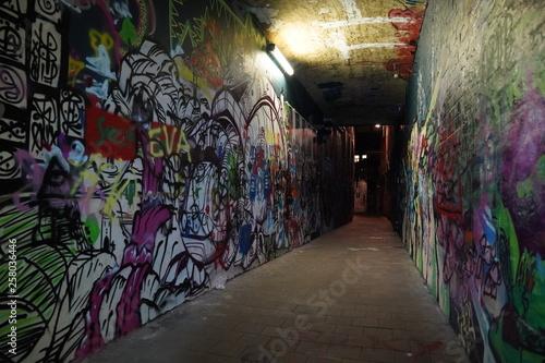 Poster Graffiti Ghent Gent Belgium