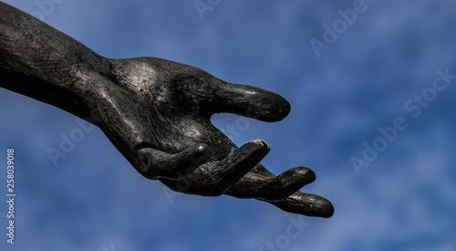 Fotografia Helfende Hand
