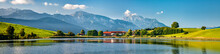 Panoramic Bavarian Landscape W...