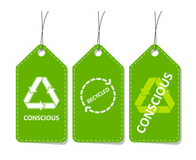 Set Of Price Tags. Conscious C...