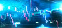 Börsen Chart Hintergrund