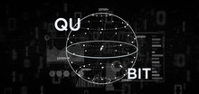 Quantum Computing Concept With...