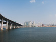Han River Cheongdam Bridge Landscape