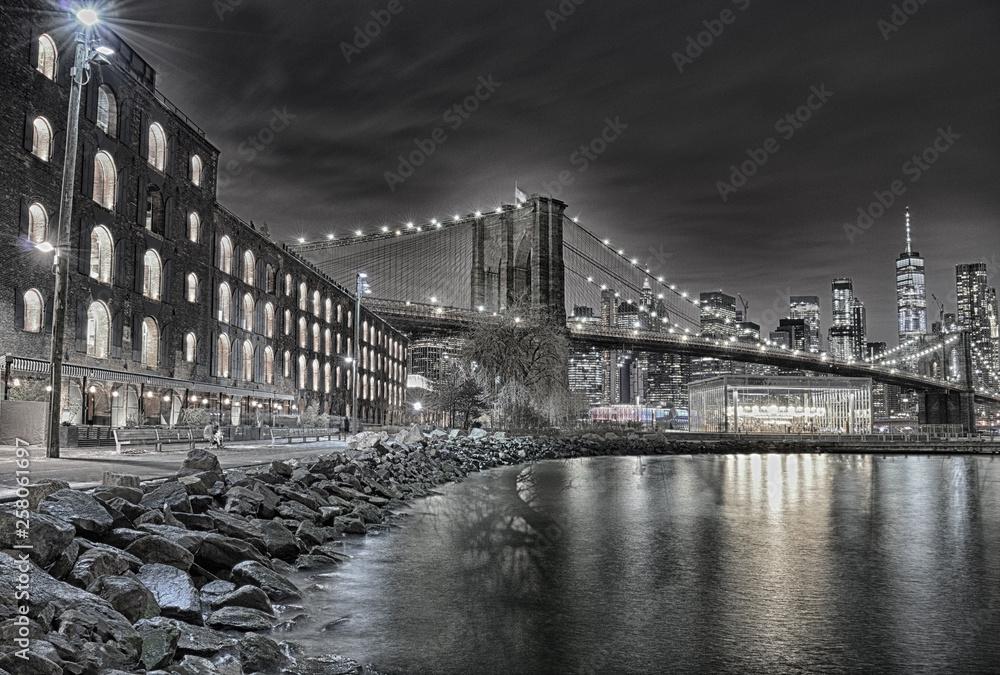 Fototapeta Brooklyn Bridge.