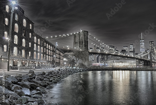 Foto auf Leinwand Brooklyn Bridge Brooklyn Bridge.