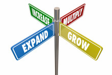 Expand Grow Increase Multiply ...