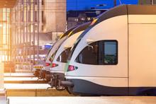 Passenger Trains Cabin Locomot...