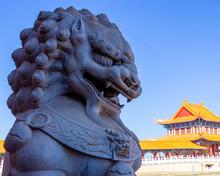 Buddhist Temple Statues