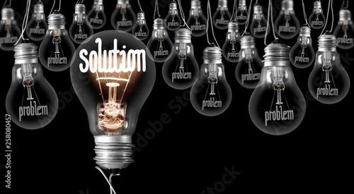 Fotografia  Light Bulbs Concept