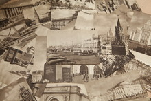 Vintage Postcards Moscow 1953