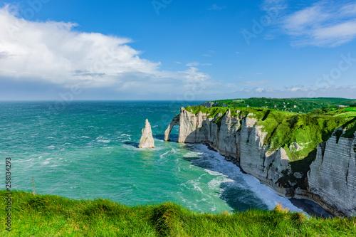 Klify Etretat - Normandia