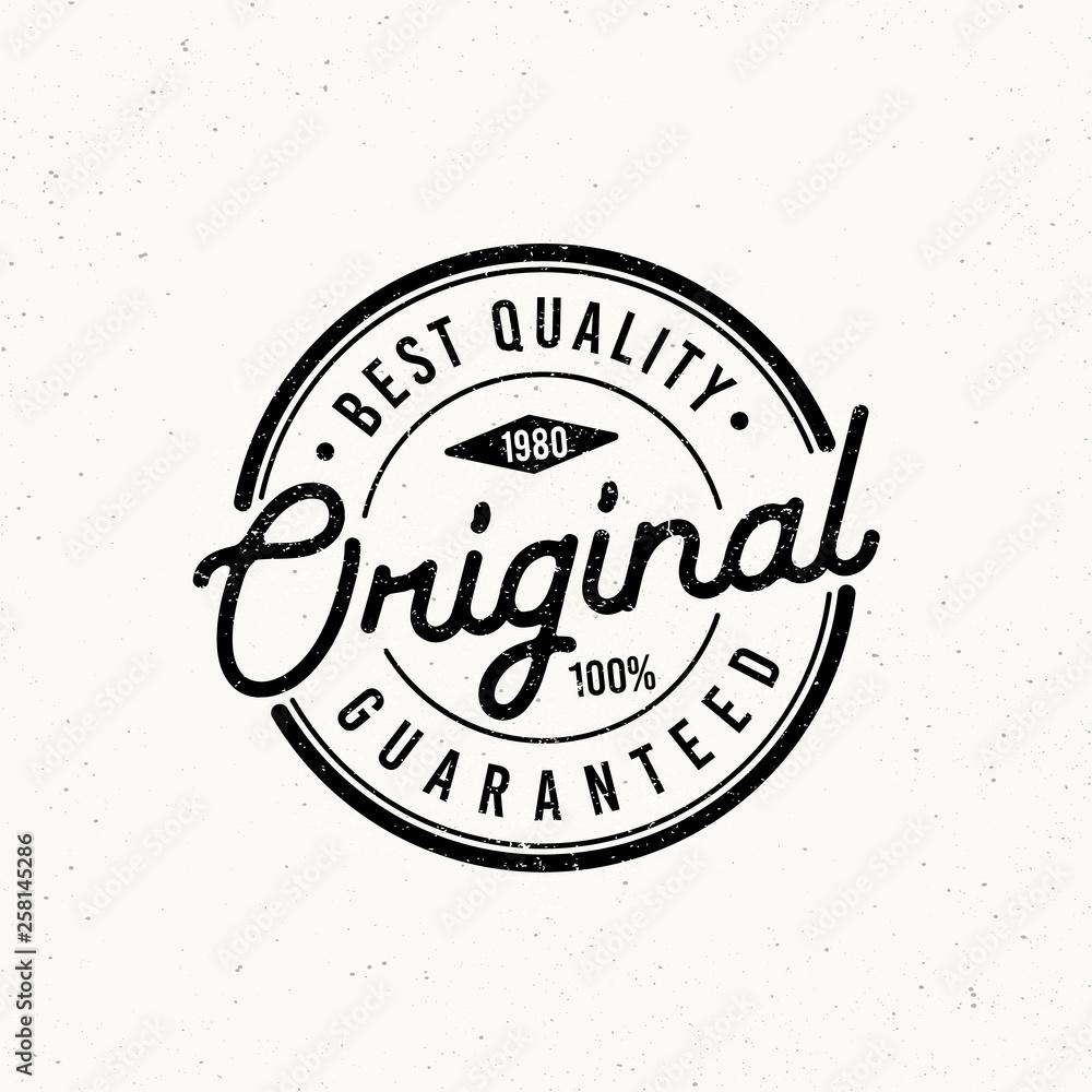 Fototapeta Original typography for t-shirt print. Apparel fashion design. Vector illustration - Vector