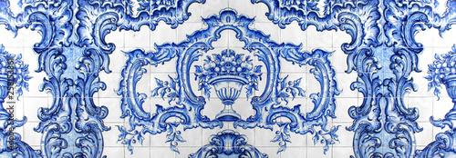 Azulejos - Camara Municipal de Funchal / Madère (Portugal) Wallpaper Mural