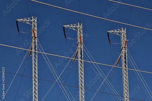 Valokuva  Transmission Tower Abstract