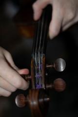Skrzypaczka dziewczyna melodie skrzypce