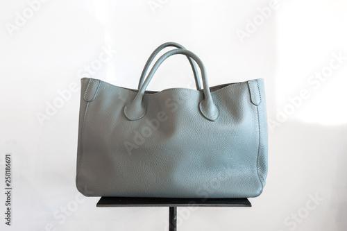 Cuadros en Lienzo Grey Leather Purse
