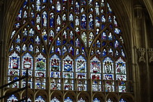 York Minster Stained Glass Windows - Yorkshire, England, UK