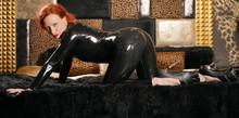 Sexy Hot Fetish Domina Posing ...