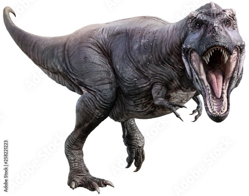 Photo  Tyrannosaurus 3D illustration