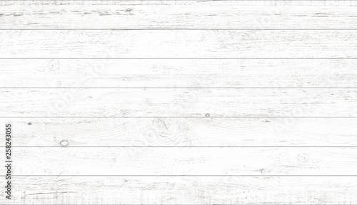 Türaufkleber Holz White wood pattern and texture for background. Close-up.