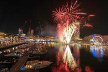 Fireworks In Darling Harbour, ...