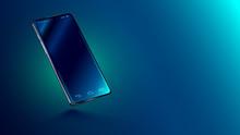 Modern Glass Smartphone Hangin...