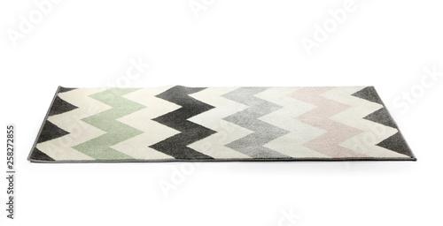 Stampa su Tela Soft carpet on white background