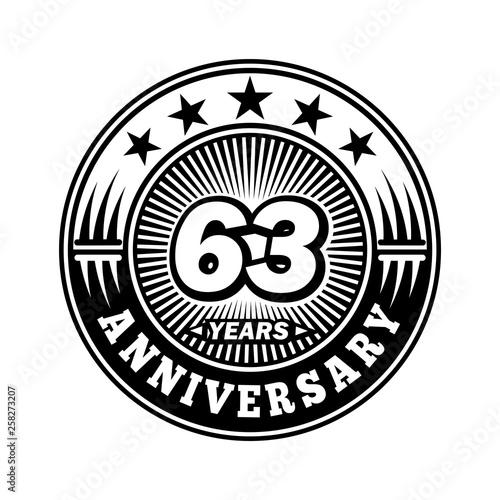 Fotografia  63 years anniversary