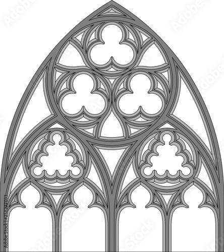 Fototapeta Gothic tracery, 29.2