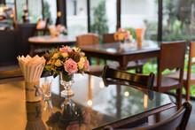 Dinner Table In Restuarant