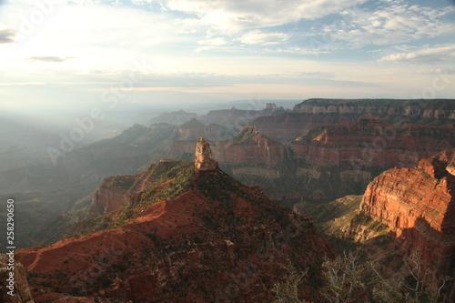 Staande foto Texas grand canyon