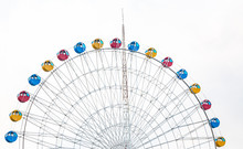Ferris Wheel In Zhanjiang Seaside Park