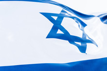 National Israel Flag With Star...