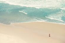 Pärchen Am Strand