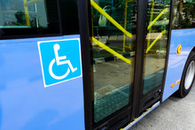 Reserved Seat Label On-board Bus For Disabled People