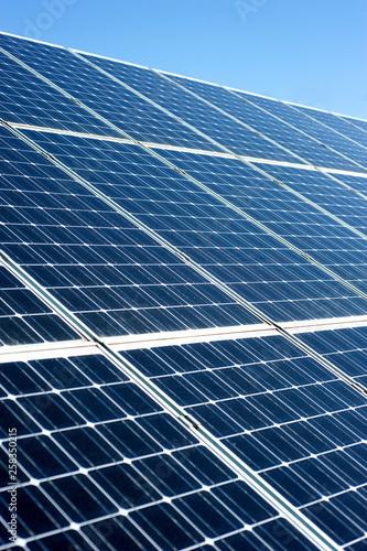 pannelli solari Canvas Print