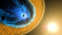 Magnetic Reconnection Turbulence. Nasa Public Domain Imagery