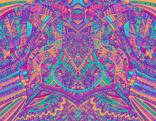 Psychedelic Creative Colorful ...