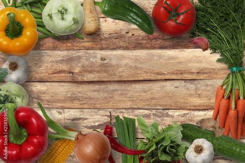 Warzywa - fototapety na wymiar