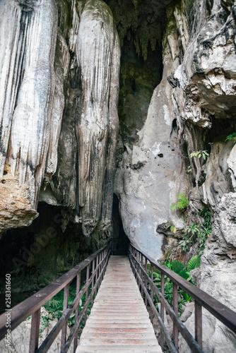 Diamond Cave at Railay Beach in Thailand