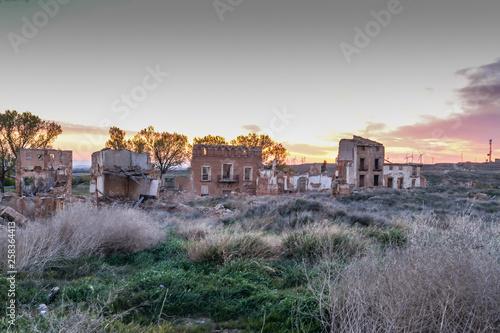 Fototapeta  The ruins of Belchite - Spain
