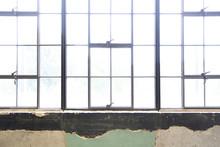 Window In Historic Industrial Building